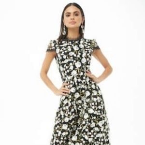 Ina Floral embroidered Formal/Prom  Dress SIZE S